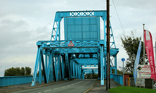 Jubilee Bridge in Connah's Quay