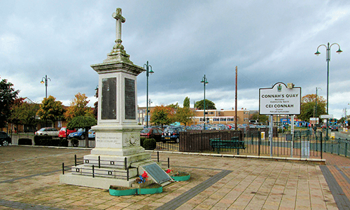 War Memorial in Connah's Quay